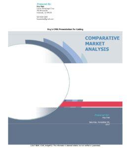 October 2017 Comparative Market Analysis in Hayward, California